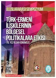 Türk-Ermeni İlişkilerinin Bölgesel Politikalara Etkisi (19. Yüzyıldan Günümüze) Uluslararası Sempozyumu, 12-14 Mayıs 2016, Bitlis, ile ilgili görsel sonucu